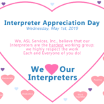 Interpreter Appreciation Day